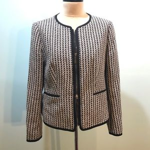 Hugo Boss Black Herringbone Tweed Jacket